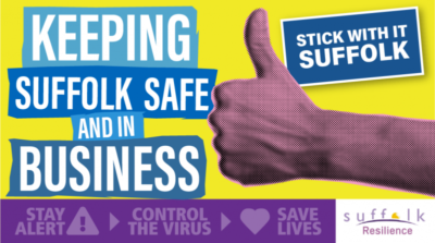 Keeping Suffolk safe and in business logo