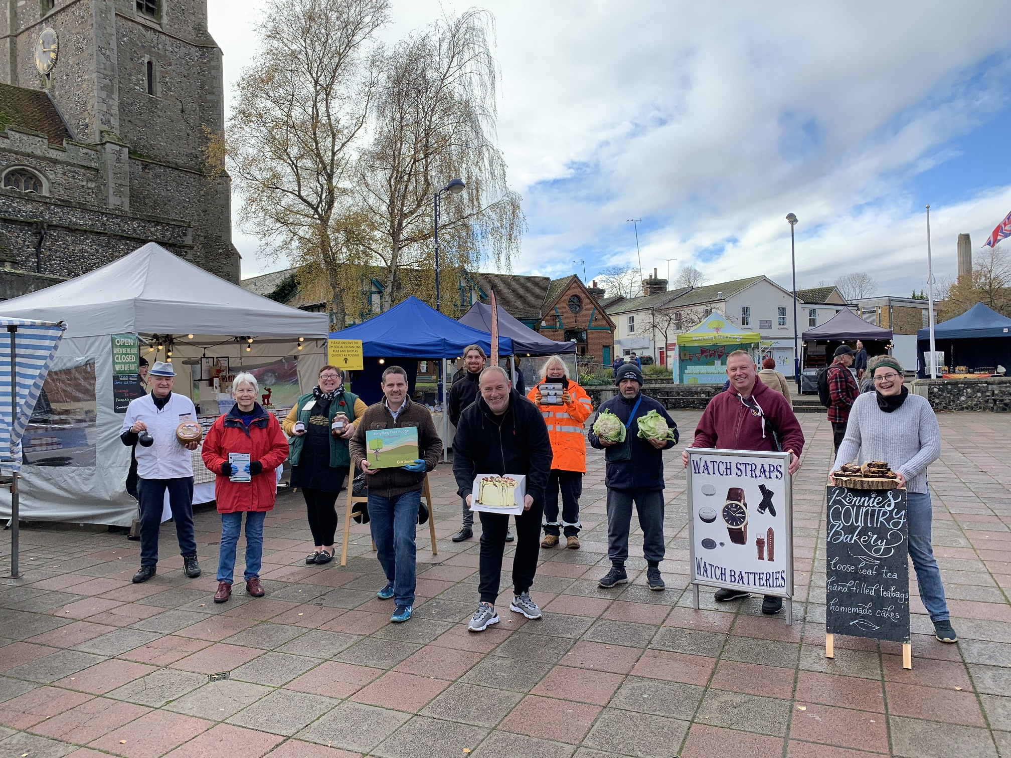 Market traders sign up for Haverhill's LoyalFree scheme